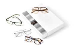 Studyjne zdjecie oprawek okularowych